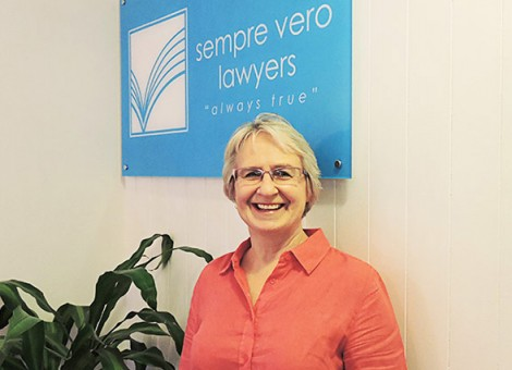 Julie Falcke, founder of Sempre Vero Lawyers