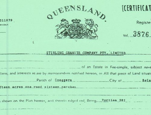 Paper Certificates of Title in QLD – October 2019